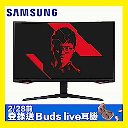SAMSUNG C32G77TQSC 32型 1000R 240Hz曲面電競螢幕 2K