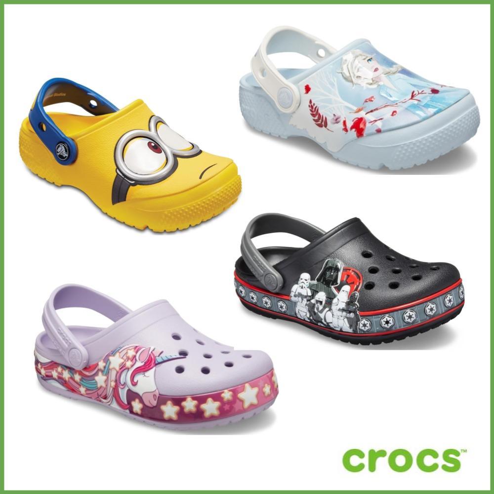 【週慶限定】 Crocs卡駱馳冰雪奇緣/小小兵/漫威聯名童鞋均一價$990元(多款任選)