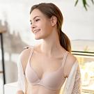 華歌爾-I-earth 環保冰咖啡 D 罩杯內衣(粉)冰涼透氣