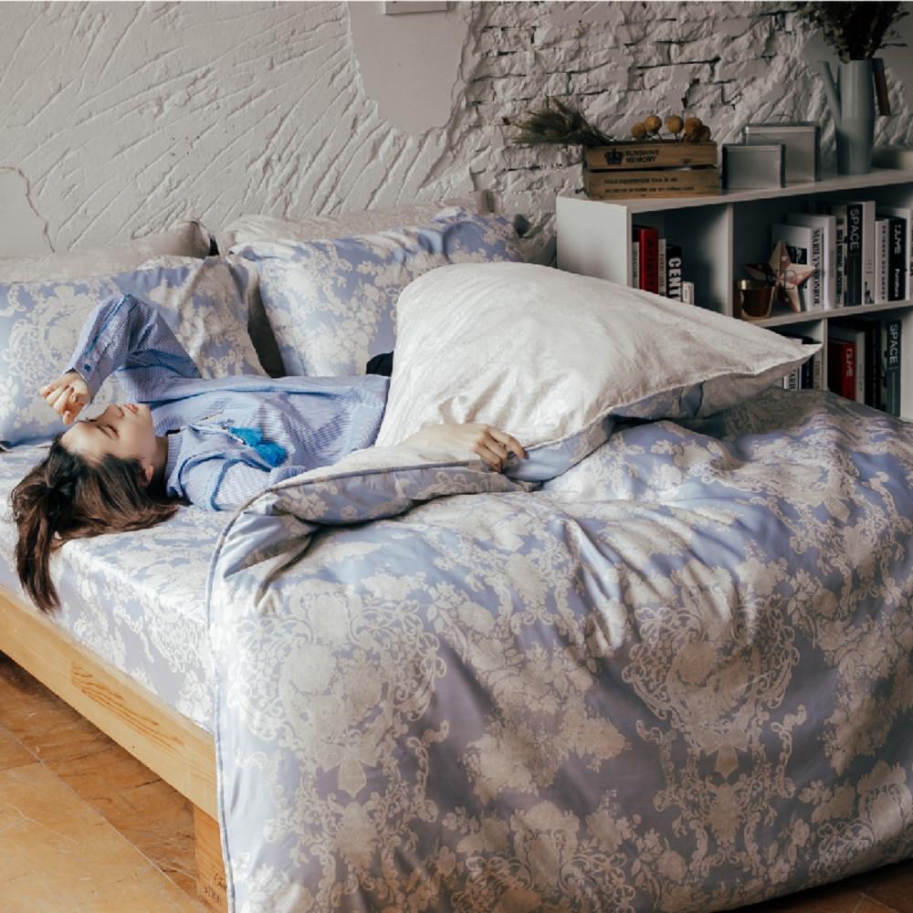 (買一送一)夢之語 3M天絲鋪棉床罩組(多款)-單/雙/大均價 (藤靛之森)