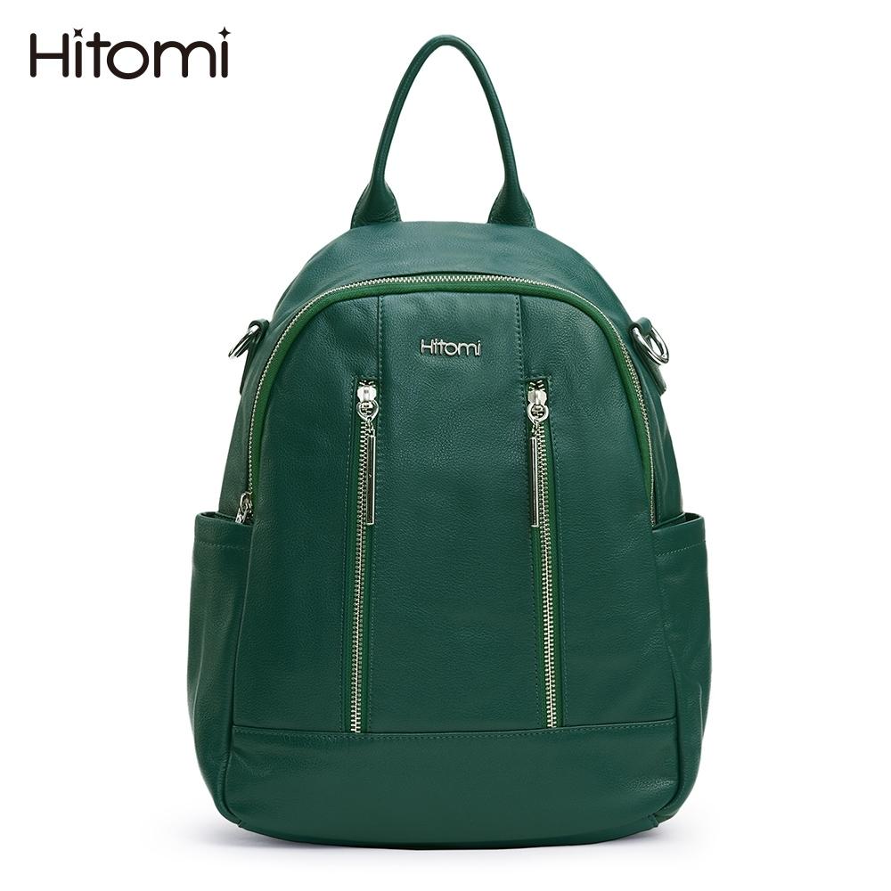 【Hitomi】彼得潘兩用肩背/後背包(彼得潘綠色32112GN)