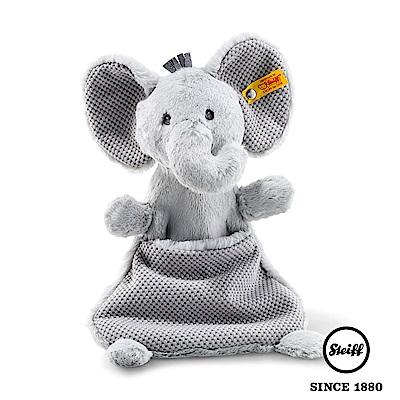 STEIFF德國金耳釦泰迪熊 大象Baby(嬰幼兒安撫巾)