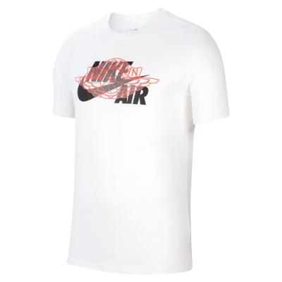NIKE 短袖上衣 休閒 慢跑 運動 男款 白 CU1980100 AS M J HBR WINGS AIR SS CREW