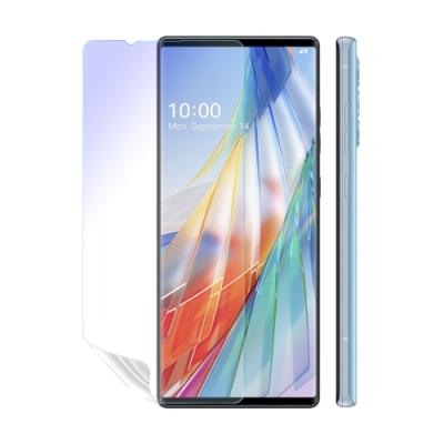 o-one護眼螢膜 LG Wing 5G 主螢幕+次螢幕 滿版抗藍光手機螢幕保護貼 兩入組