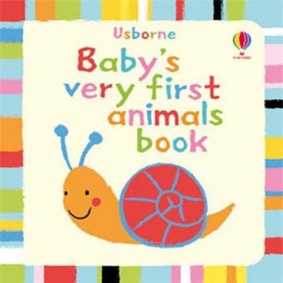 Baby s Very First Animals Book 寶貝的第一本單字書:動物叫聲篇