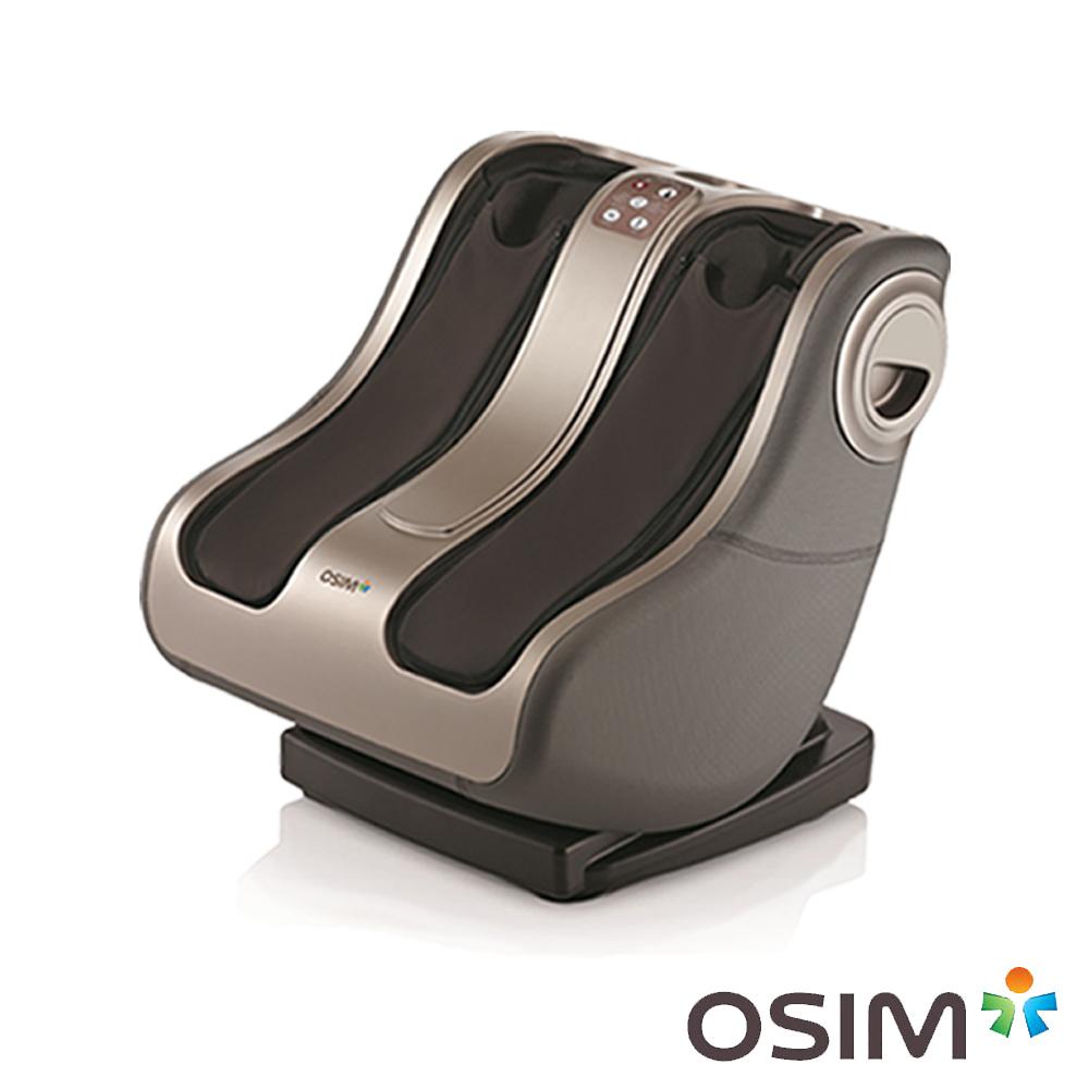 OSIM 暖足OS-338 美腿機/腳底按摩/溫熱 (黑灰色)