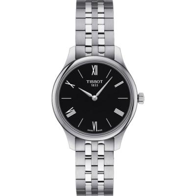 TISSOT天梭 Tradition 系列石英女錶-黑/31mm T0632091105800