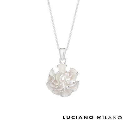 LUCIANO MILANO 洋繡球純銀墜飾(贈基本鍊)