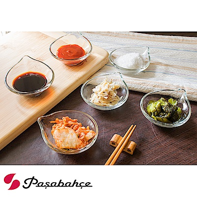 Pasabahce 精緻玻璃點心碟6入禮盒組