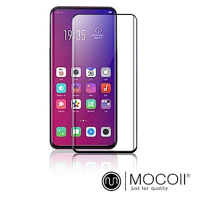 Mocoll - 3D 滿版 , 9H 鋼化玻璃膜 - Oppo FIND X 專用