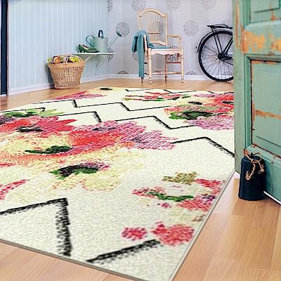 范登伯格 - SWING 進口仿羊毛地毯 - 綻放 (160 x 230cm)