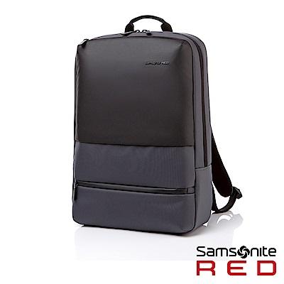 Samsonite RED ARZOE 輕量休閒筆電後背包15.6(灰)