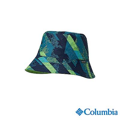 Columbia 哥倫比亞 兒童-UPF50兩面遮陽帽-深藍UCY00750NY