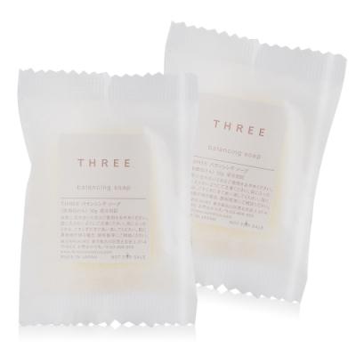 (即期品)THREE 平衡洗顏皂10gX2-期效202004