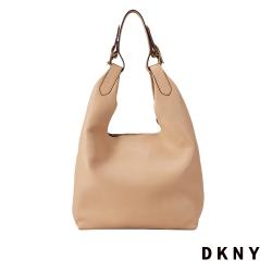 DKNY 新月休閒設計肩背包 黃