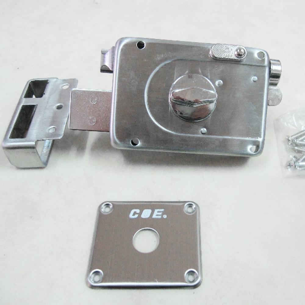 C.O.E C-201SS 隱藏式四段鎖 小旋轉紐 四段鎖 不銹鋼 無拉把 快速伸縮四段鎖