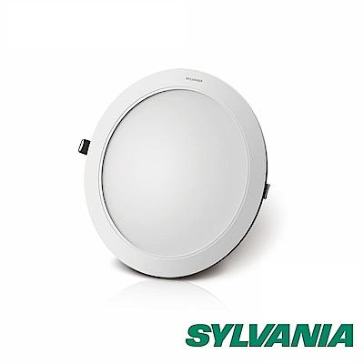 喜萬年SYLVANIA 全電壓12W LED 超薄嵌燈-黃光3000K