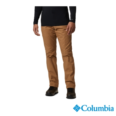 Columbia 哥倫比亞 男款- Omni-Shade 防曬50內刷毛長褲-棕色 UAE05550BN