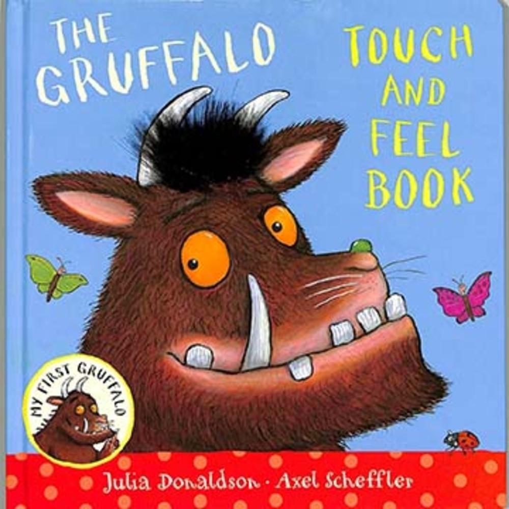 My First Gruffalo:Touch And Feel 摸摸古肥玀硬頁觸摸書