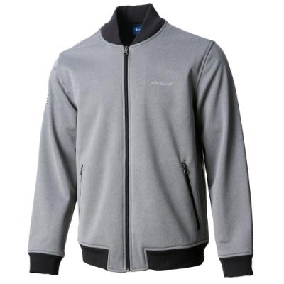 【WILDLAND荒野】女防潑防風保暖飛行外套90灰色