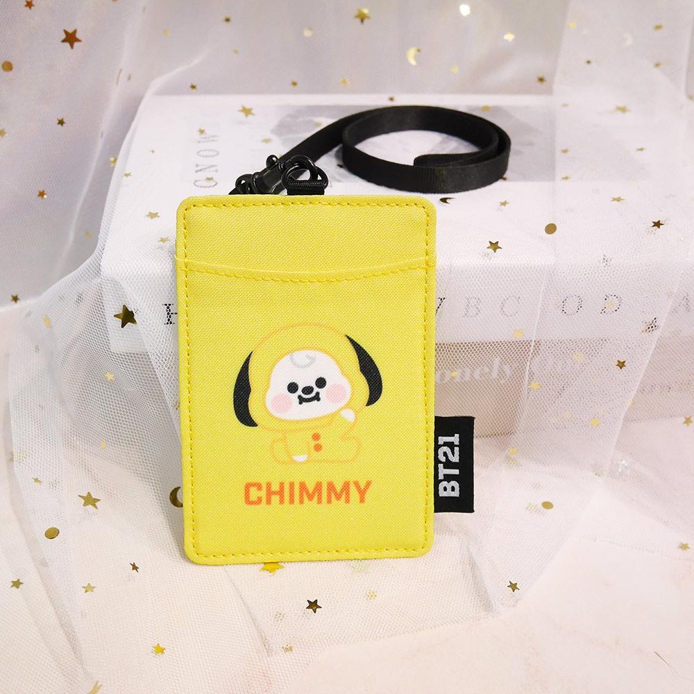 宇宙明星BT21-BABY寶寶卡片套-CHIMMY-黃色 ODBT20D11YL