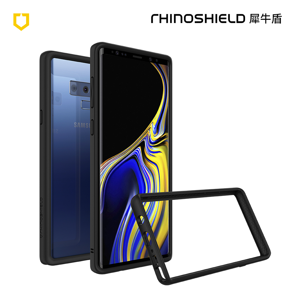 犀牛盾 Samsung Note 9 CrashGuard防摔邊框手機殼