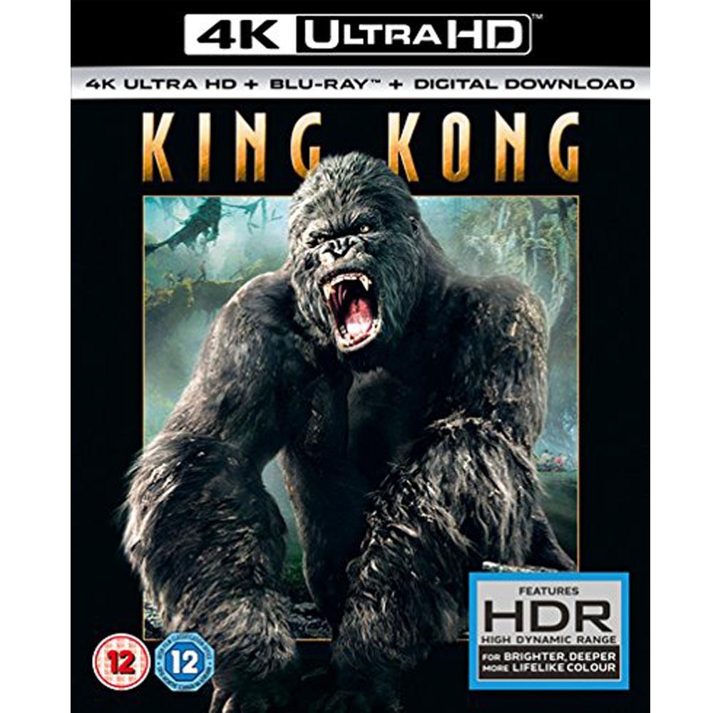 金剛  KING KONG 4K UHD+BD 雙碟限定版
