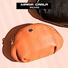 MARIA CARLA 月光微皺隨身小包 日光步調系列(月光橘 )