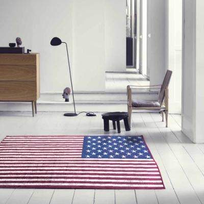 范登伯格 - 捷伯 進口絲質地毯 - 美國國旗 (100 x 140cm)