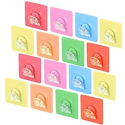 歐奇納 OHKINA 隨手貼系列_馬卡龍方形重複貼文件夾16入(6.8x6.8cm)