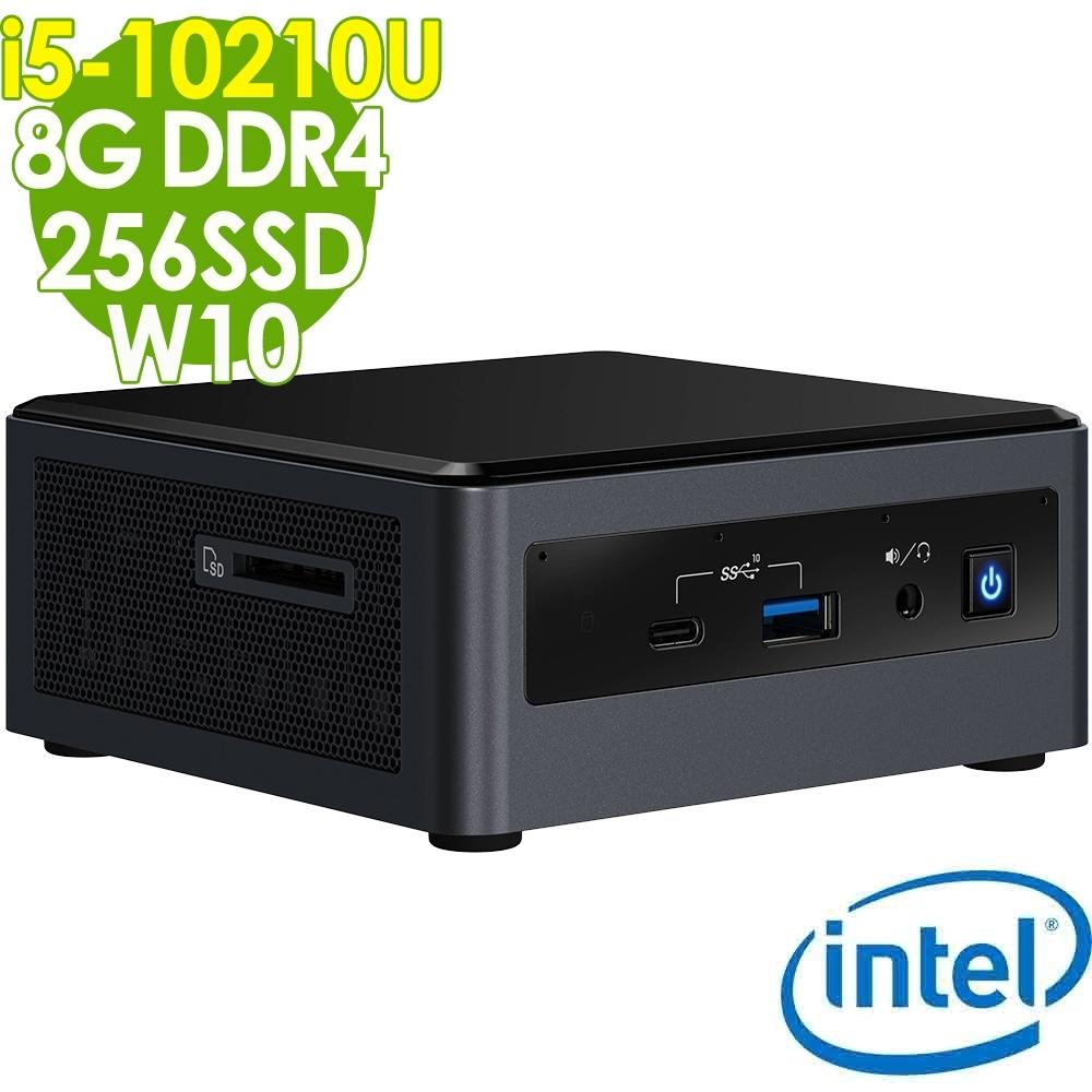 Intel 迷你無線電腦 NUC i5-10210U/8G/256SSD/W10