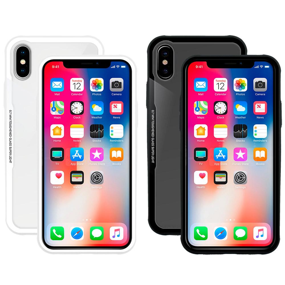 Metal-Slim 2018 Apple iPhone 5.8吋 強化鋼化玻璃保護殼 @ Y!購物