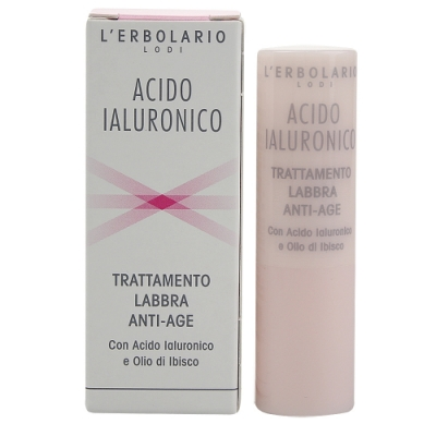 (期效品)L ERBOLARIO 蕾莉歐 柔嫩保濕護唇膏4.5ml-期效202007