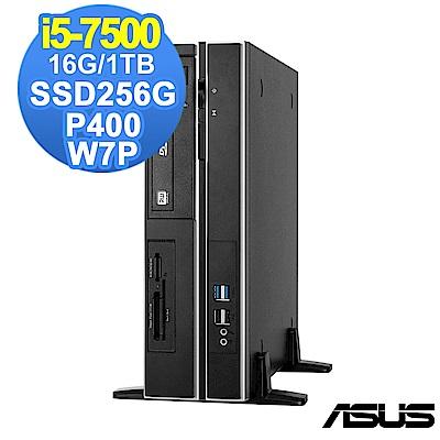 ASUS ESC500 G4 SFF i5/16G/1T+256G/P400/W7P