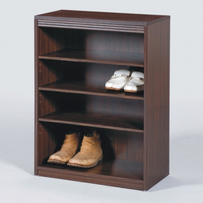 AS-莫爾胡桃色2尺鞋櫃-60x30x83cm