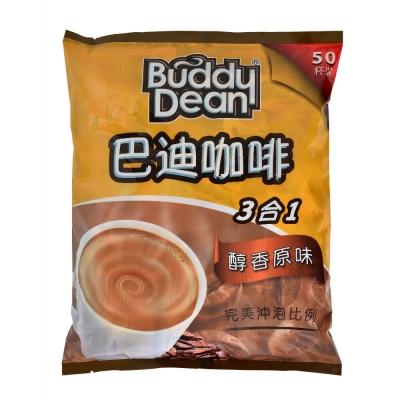 Buddy Dean 巴迪三合一咖啡-醇香原味(15gx50入)