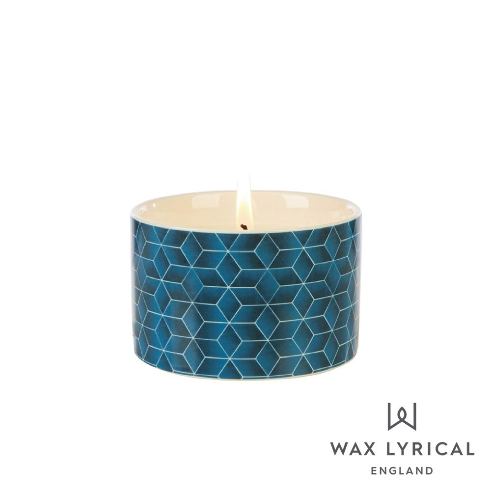英國 Wax Lyrical 大地系列香氛蠟燭-雪松阿薩姆 Assam & White Cedar 168g