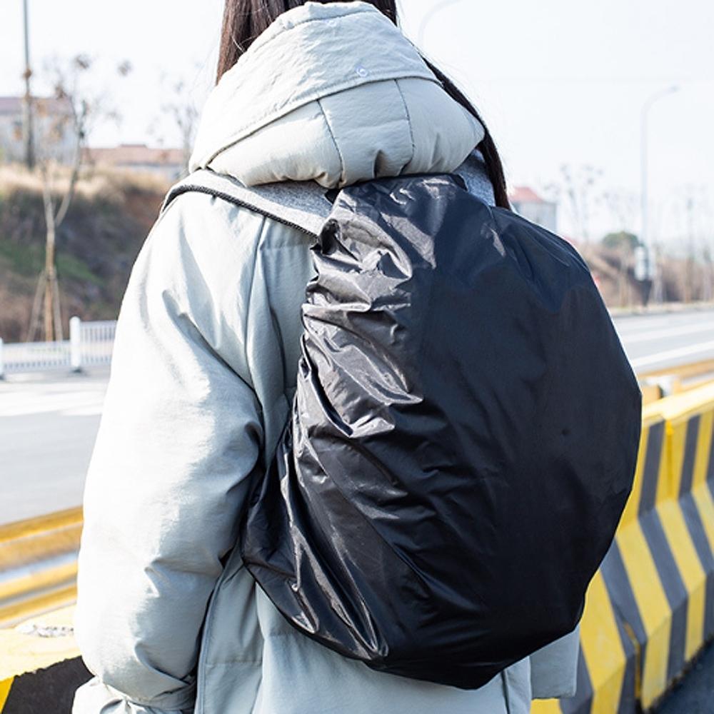 E.City_210D防水彈性背包登山包防水防塵套