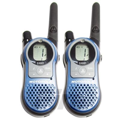 摩托羅拉 MOTOROLA SX601 免執照 無線電對講機 體積輕巧 攜帶方便 兩入組