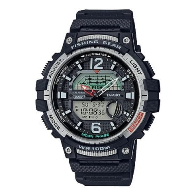 CASIO卡西歐 釣魚活動概念設計手錶(WSC-1250H系列)