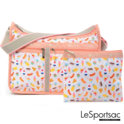 LeSportsac - Standard 雙口袋A4大書包-附化妝包(夏季點心)