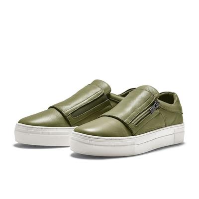 TRAVEL FOX EVA 舒適休閒懶人鞋-綠豆蔻