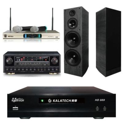 美華HD-889+AL-589+A-1090+MR-3000D IV(伴唱機 3TB+卡拉OK套組)