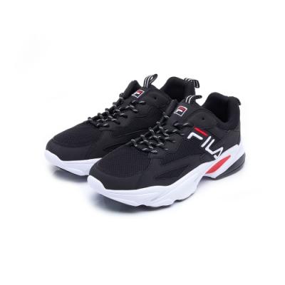FILA BEATS TRACER 男性復古慢跑鞋-黑 1-J526U-001