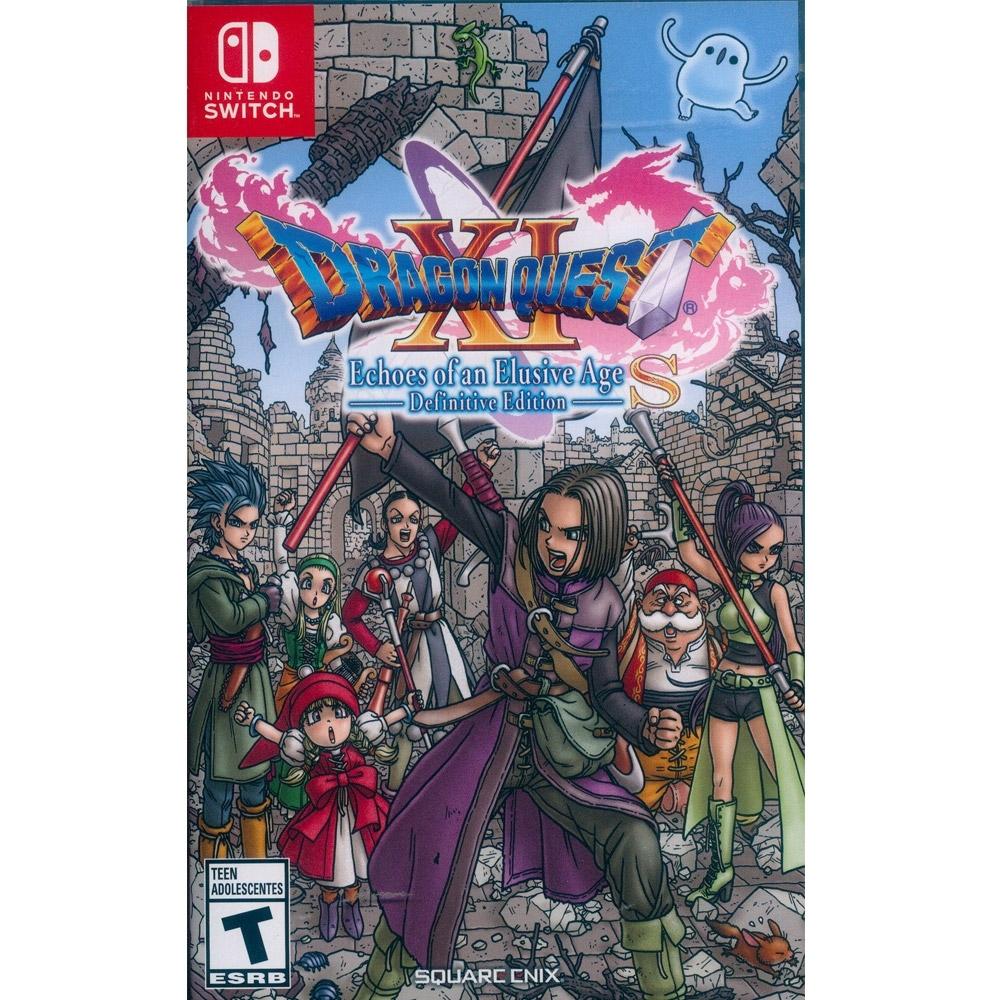 勇者鬥惡龍 XI S 尋覓逝去的時光–Definitive Edition  Dragon Quest XI Echoes of an Elusive Age S - NS Switch 中英日文美版