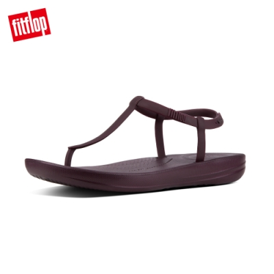 FitFlop IQUSHION SPLASH BACK-STRAP SANDALS 輕量人體工學戲水後帶涼鞋-女(紫色)