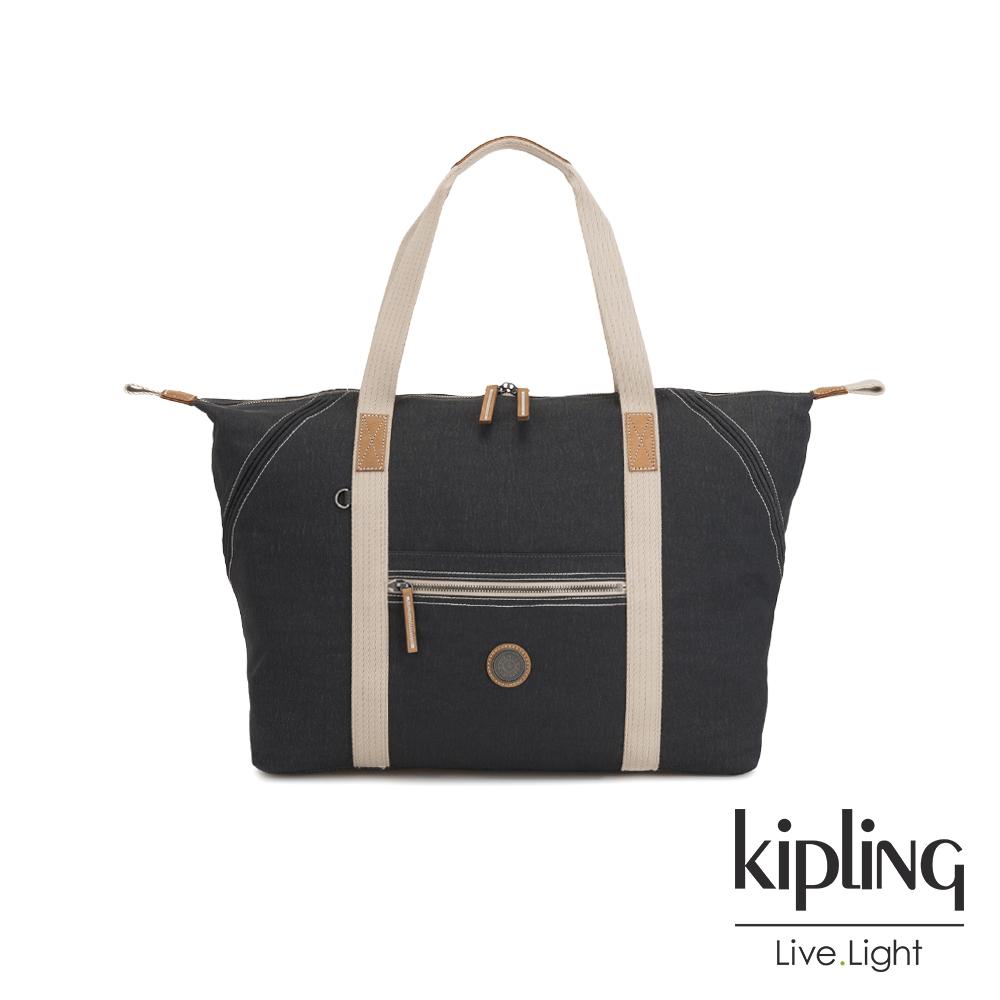 Kipling 城市探索霧灰手提側背包-ART M-EDGELAND系列