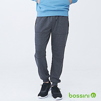 bossini男裝-休閒針織長褲03灰