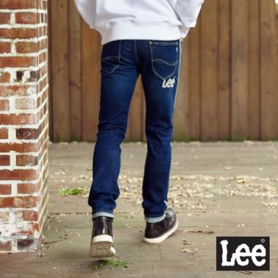 Lee 牛仔褲 707 中腰標準合身小直筒 男 深藍