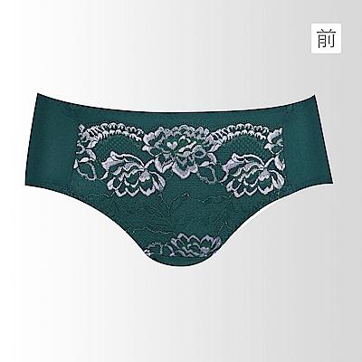 蕾黛絲-超值嚴選 冰雪女伶搭配平口內褲M-EL(墨綠)